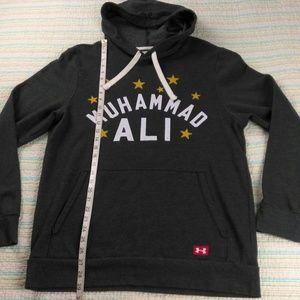 Under Armour Shirts S Coldgear Loose Muhammad Ali Hoodie Poshmark